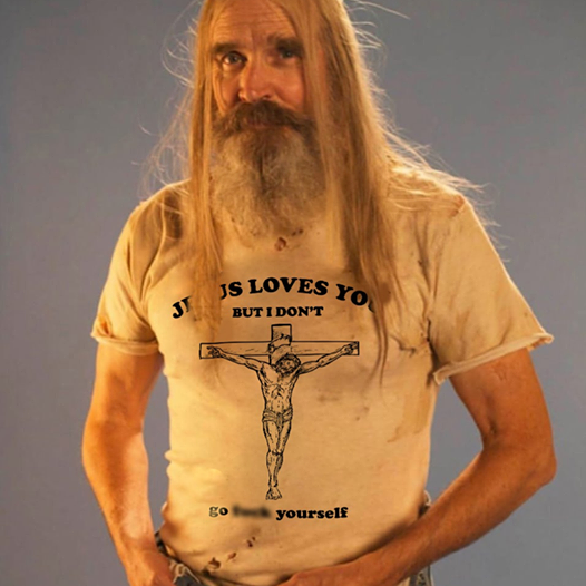 Jesus Loves You But I Dont Go F*** Yourself Funny T-Shirt Best Gift Shirt Size S-5XL