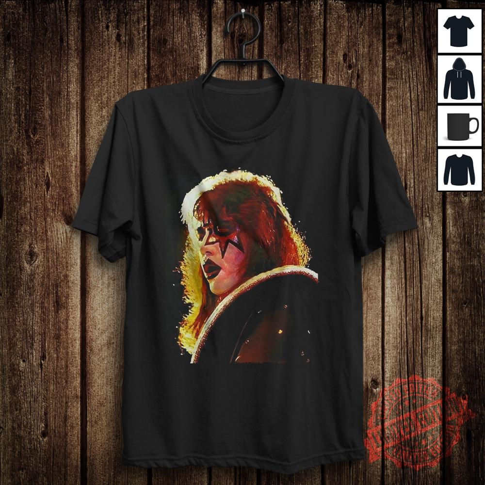 Kiss Ace Frehley Alive 2 Mens Womens Black T-Shirt Size S-5XL