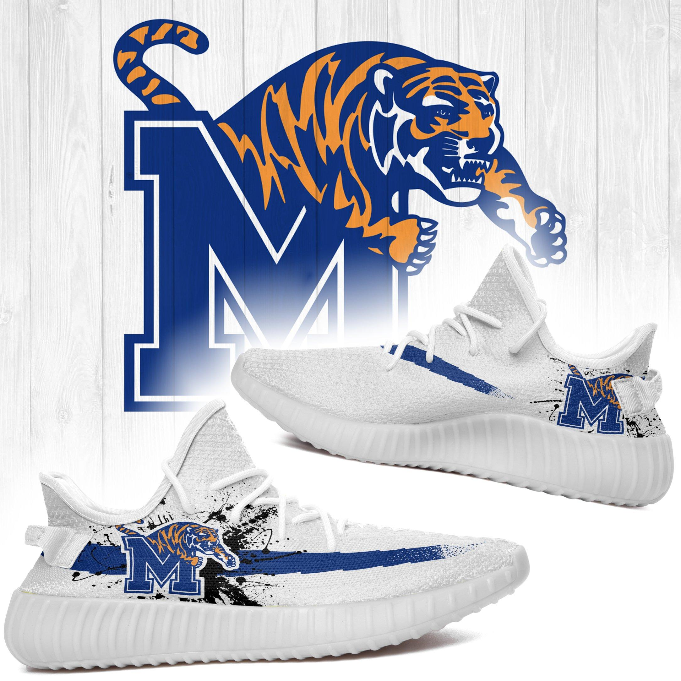 Memphis Tigers Custom Yeezy Shoes NCAA