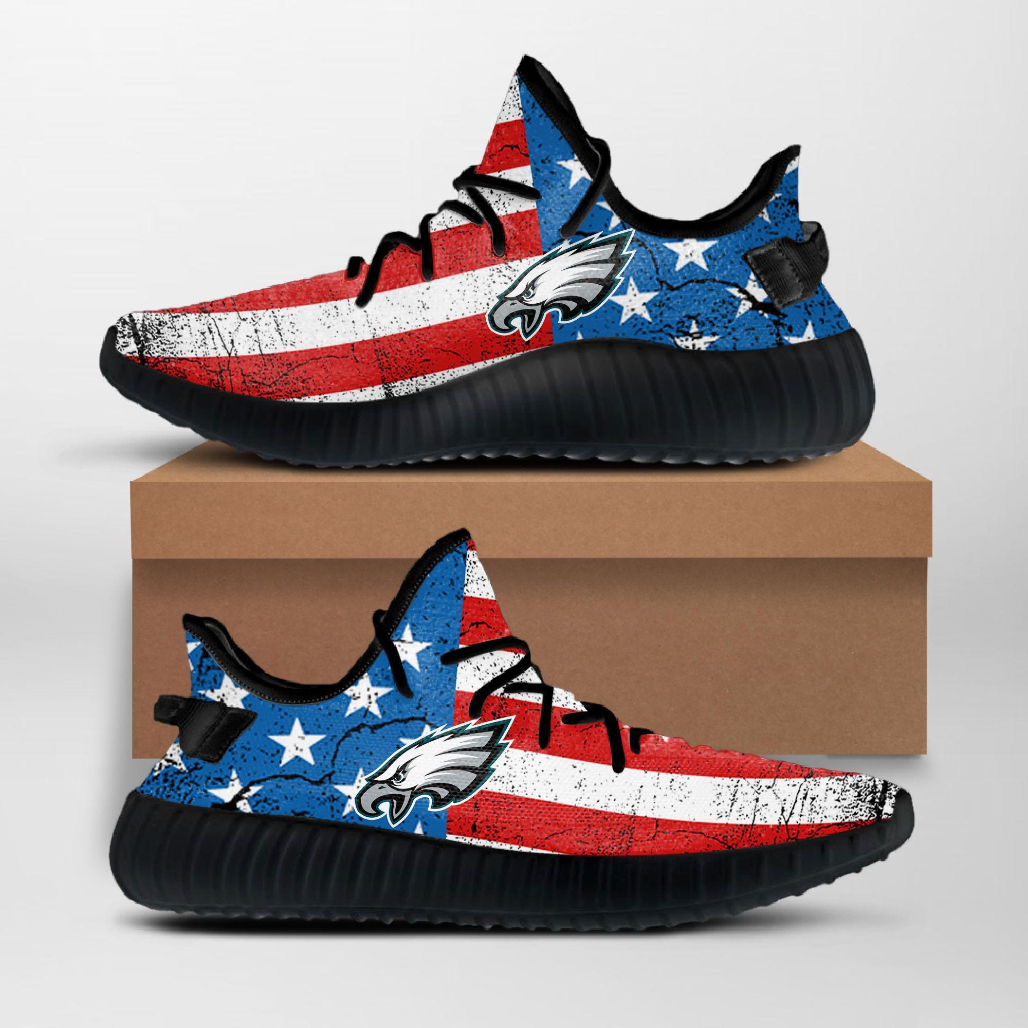 Philadelphia Eagles Yeezy Sneakers NFL
