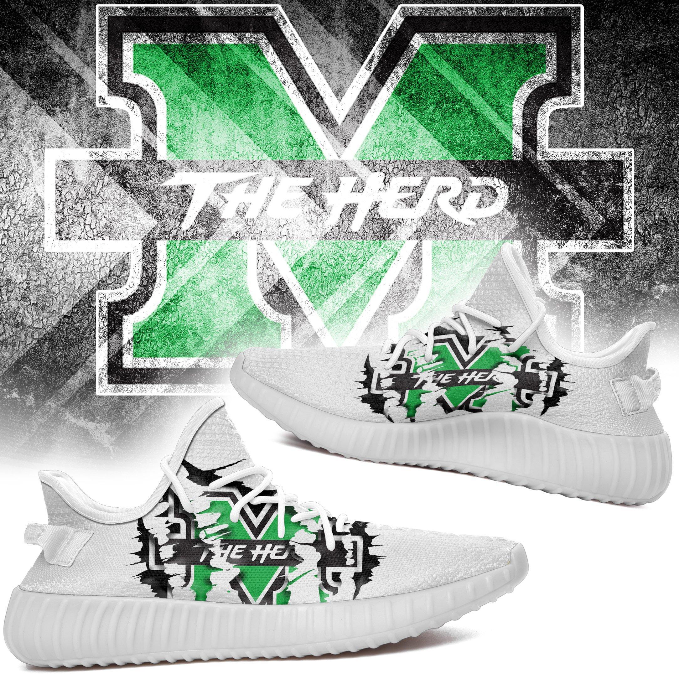Marshall Yeezys NCAA Teams Yeezy Boost