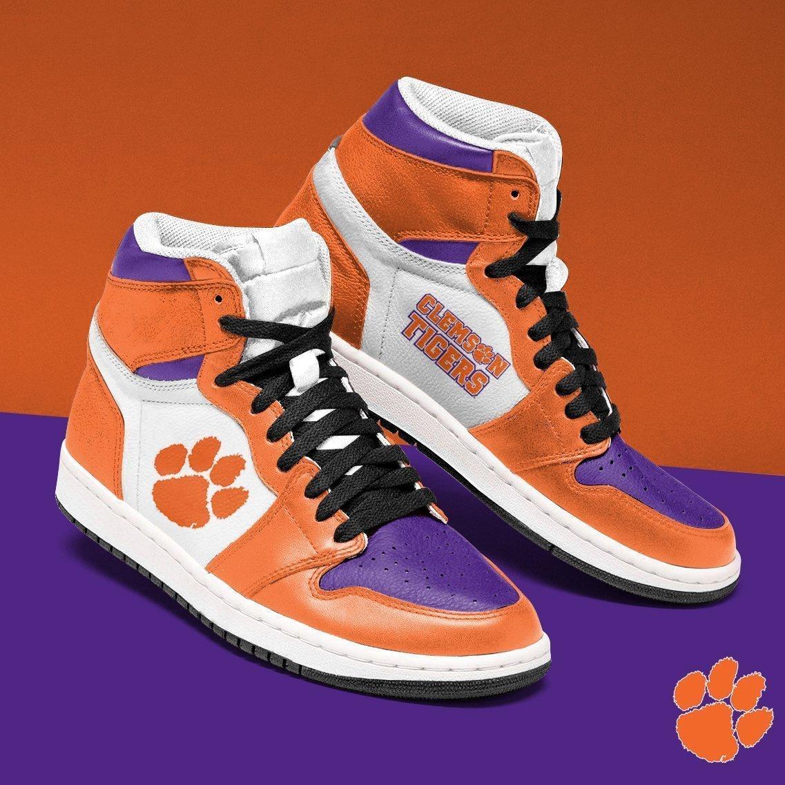 Clemson Tigers Jordan Sneaker NCAA