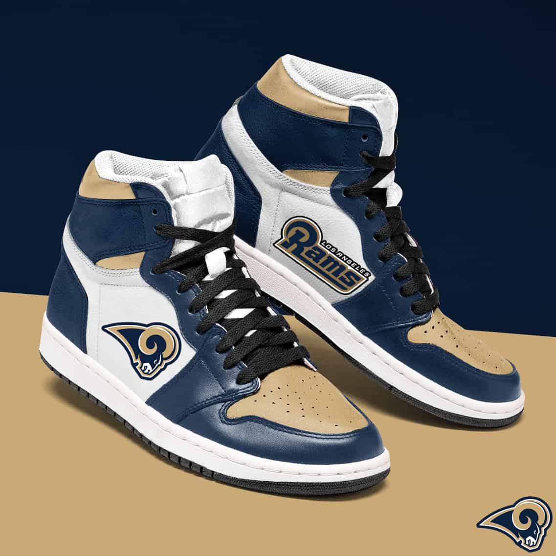 Los Angeles Rams Jordan Sneaker NFL Los