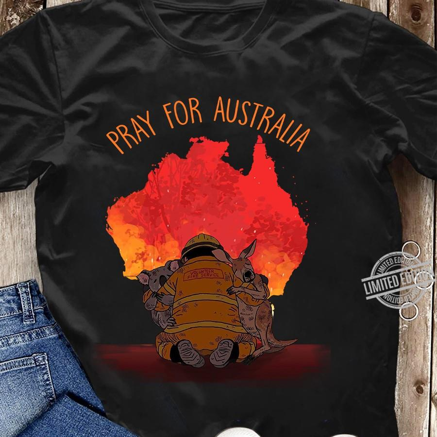 Pray For Australia Unisex T-Shirt All Color Size Up To 5XL