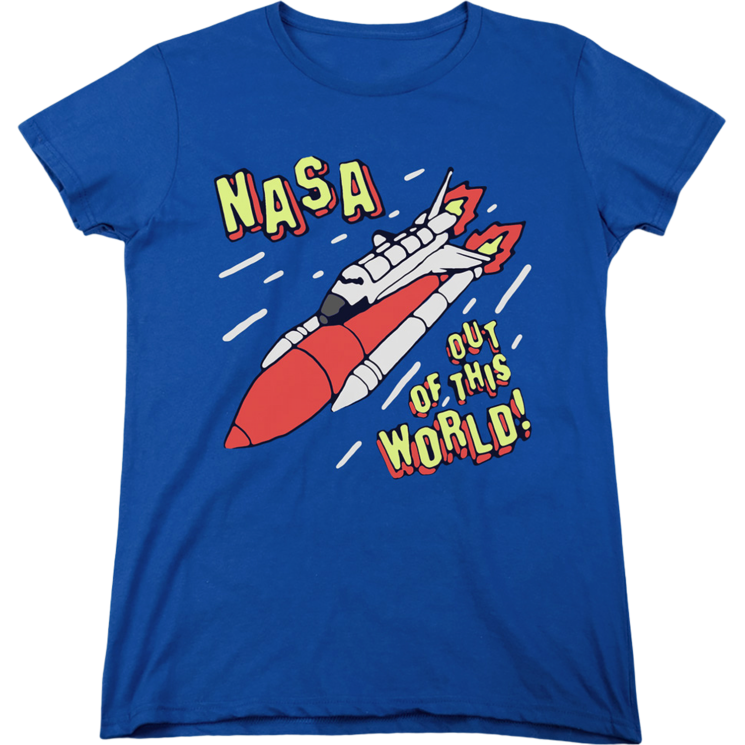 womens out of this world nasa shirt Unisex T-Shirt All Color Size Up To 5XL